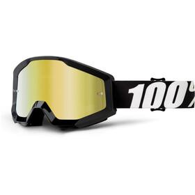 100% Strata Goggles black